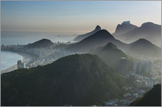 Cuadro de plexi-alu  View from the Sugarloaf - Michael Runkel