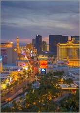 Cuadro de plexi-alu  The Strip, Las Vegas, Nevada, United States of America, North America - Alan Copson