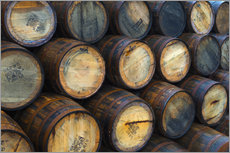 Vinilo para la pared  Casks (barrels), Port Askaig - Alan Copson