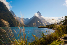 Cuadro de plexi-alu  Mitre Peak, Milford Sound - Matthew Williams-Ellis