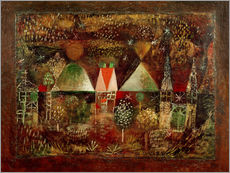 Vinilo para la pared  Nocturnal Festivities - Paul Klee