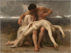 Vinilo para la pared  The First Mourning - William Adolphe Bouguereau