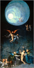 Cuadro de plexi-alu  The Ascent to the Heavenly Paradise - Hieronymus Bosch