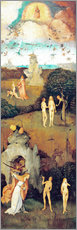 Cuadro de plexi-alu  Emergence of evil and the loss of paradise - Hieronymus Bosch