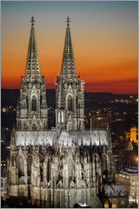 Cuadro de plexi-alu  cathedral of cologne - rclassen