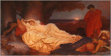Vinilo para la pared  Cymon and Iphigenia - Frederic Leighton