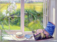 Vinilo para la pared  Reading window seat - Timothy Easton