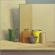 Vinilo para la pared  Amarillo y verde - William Packer