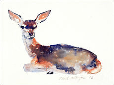 Cuadro de plexi-alu  Lying deer - Mark Adlington