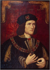 Cuadro de plexi-alu  King Richard III. - English School