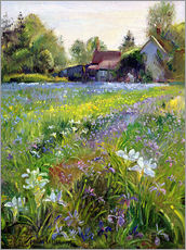 Vinilo para la pared  Cottage in the country - Timothy Easton