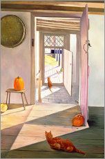 Vinilo para la pared  Cats in the house - Timothy Easton