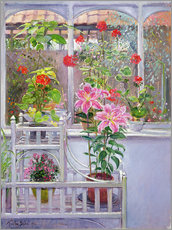 Cuadro de plexi-alu  In the winter garden - Timothy Easton