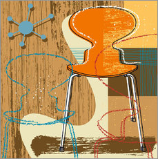 Vinilo para la pared ant chair