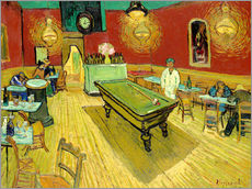 Cuadro de plexi-alu  Night Cafe in Arles - Vincent van Gogh