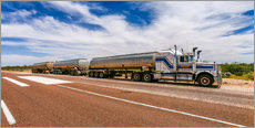 Cuadro de plexi-alu  Road Train Australia - Thomas Hagenau