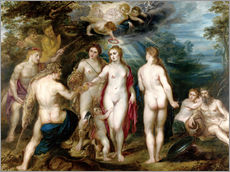 Cuadro de plexi-alu  The judgment of paris - Peter Paul Rubens
