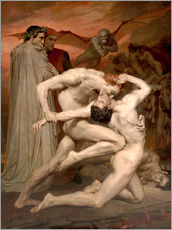 Cuadro de plexi-alu  Dante y Virgilio - William Adolphe Bouguereau
