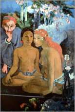 Cuadro de madera  Barbaric stories - Paul Gauguin