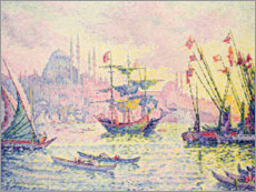 Vinilo para la pared  Constantinople - Paul Signac