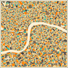 Jazzberry Blue - Mapa de Londres
