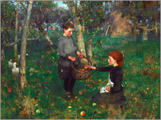 Vinilo para la pared  In the Orchard - Sir James Guthrie