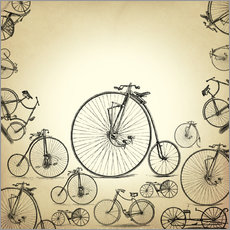 Vinilo para la pared  Bicycles - Mark Ashkenazi