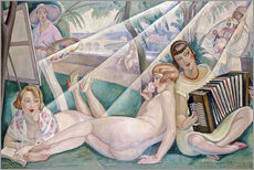 Vinilo para la pared  A summer day - Gerda Wegener