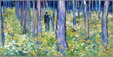 Cuadro de plexi-alu  Undergrowth with Two Figures - Vincent van Gogh