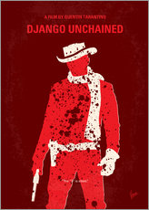 chungkong - No184 My Django Unchained minimal movie poster