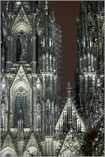 Cuadro de plexi-alu  Detail of Cologne Cathedral
