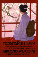 Póster  Puccini, Madame Butterfly - Leopoldo Metlicovitz