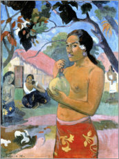 Vinilo para la pared  Tahitian Woman - Paul Gauguin