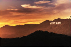 Vinilo para la pared  Hollywood - Salvadori Chiara