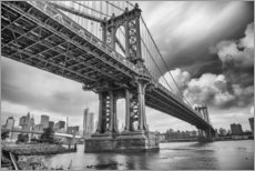 Vinilo para la pared The Manhattan Bridge