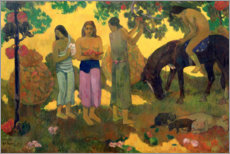 Lienzo  Wonderful country - Paul Gauguin