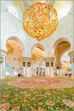 Vinilo para la pared  Sheikh Zayed mosque in Abu Dabi
