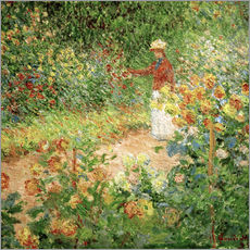 Vinilo para la pared Monet's Garden in Giverny