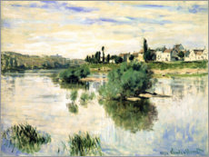 Cuadro de metacrilato  The Seine near Lavacourt - Claude Monet
