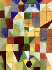 Vinilo para la pared  Urban Composition - Paul Klee