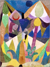 Vinilo para la pared  Paisaje tropical - Paul Klee