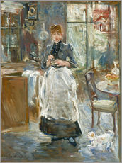Cuadro de plexi-alu  In the Dining Room - Berthe Morisot
