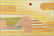 Vinilo para la pared  Evening in Egypt - Paul Klee