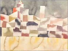 Vinilo para la pared  Architecture in the Orient - Paul Klee