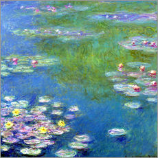 Vinilo para la pared  Nenúfares I - Claude Monet