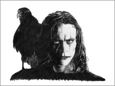Cuadro de plexi-alu  THE CROW alternative movie art - Cultscenes