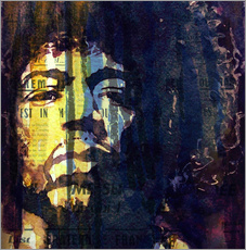 Vinilo para la pared  Jimmy Hendrix - Paul Lovering