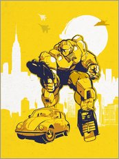 Vinilo para la pared  Transformers Bumblebee - 2ToastDesign