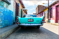 Vinilo para la pared  Coche antiguo en Cuba - Reemt Peters-Hein
