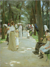 Vinilo para la pared  The Parrot Walk - Max Liebermann